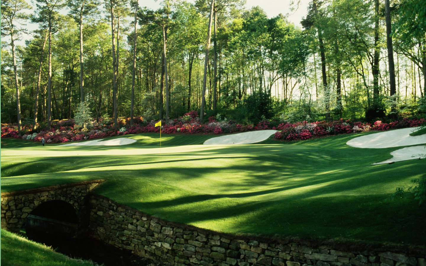 download The Augusta National Golf Course Wallpapers HD 1440x900