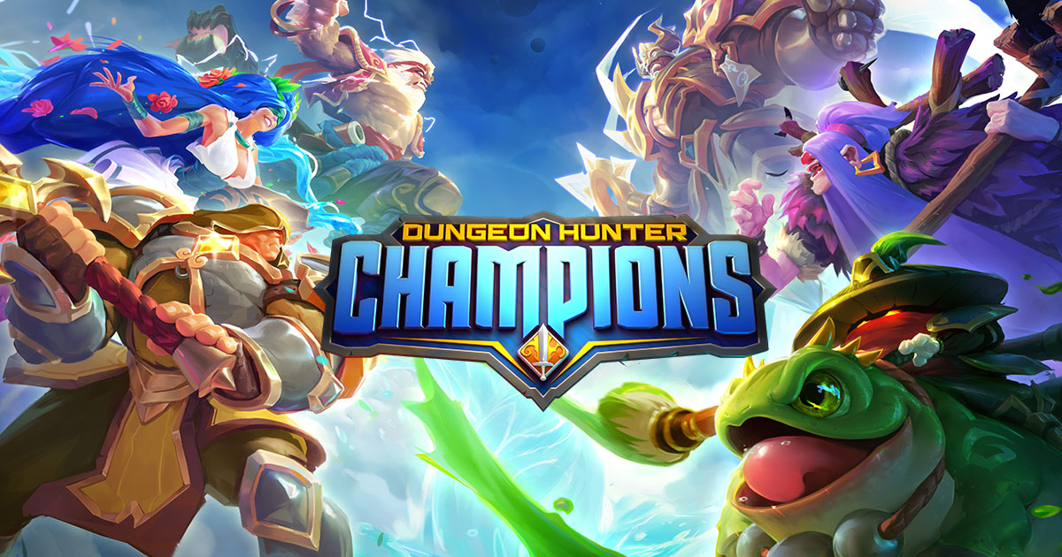 Dungeon Hunter Champions Epic Online Action RPG 1200x630