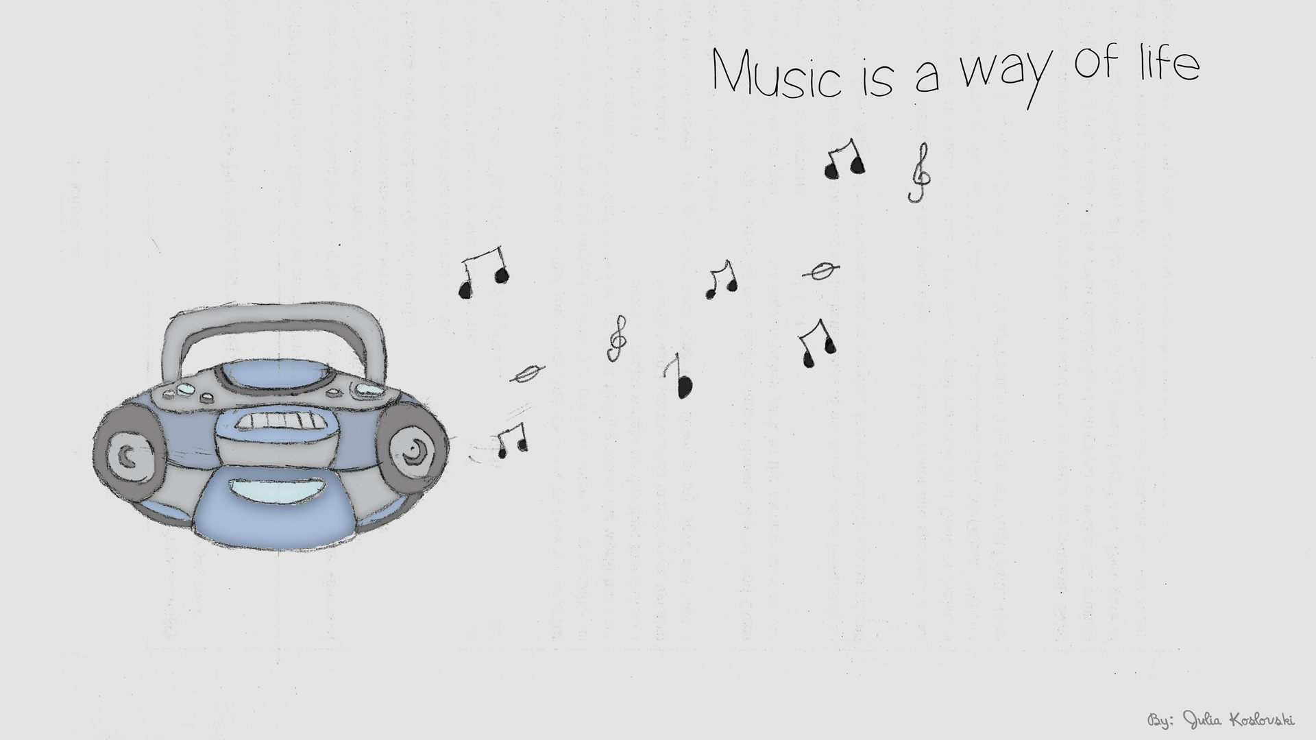 Cute Music Wallpaper Wallpapersafari