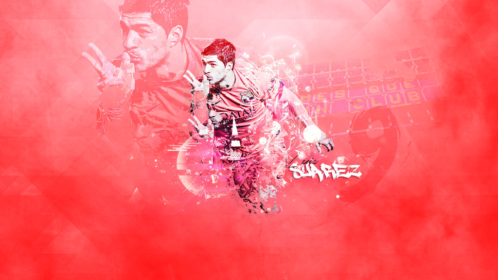 Luis Suarez 2015 wallpaper fc barcelona by RHGFX2 1024x576