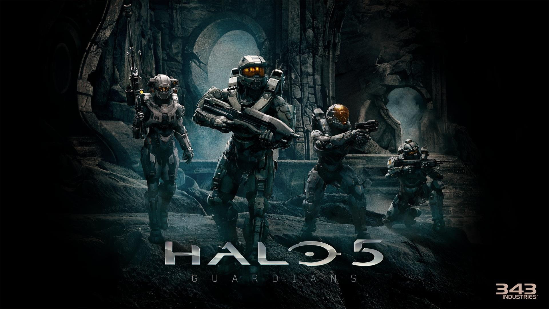 Wallpaper Halo 5 Guardians 06 sur PS4 Xbox One WiiU PS3 PS Vita 1920x1080