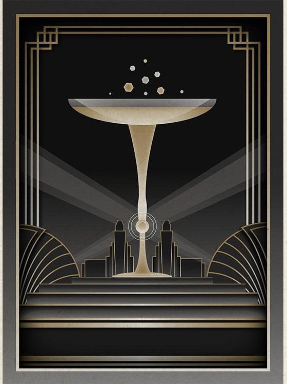 Art Deco Wallpaper Desktop Wallpapersafari