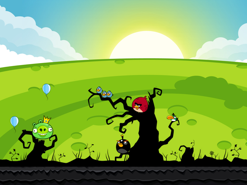 to Download Angry Birds Wallpapers and Make Your Desktop Shake 1024x768