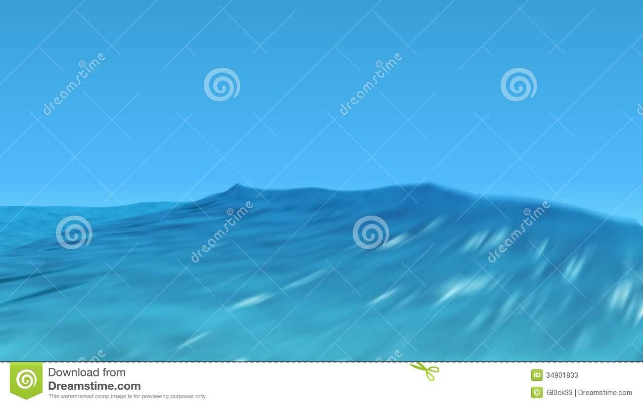 Moving Ocean Waves Background Tropical ocean waves video 1300x821