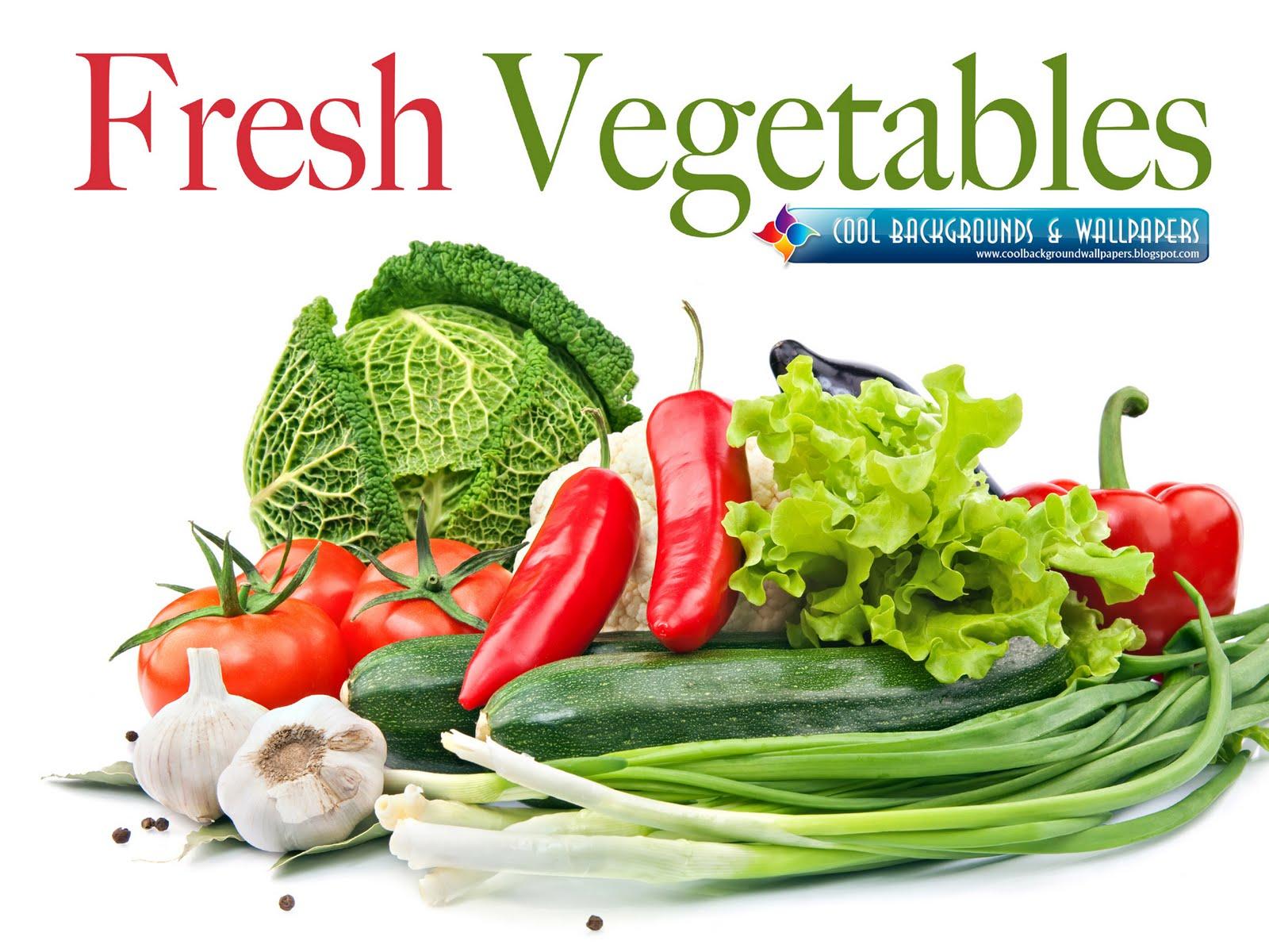 Fresh vegetables Wallpaper 1600x1200