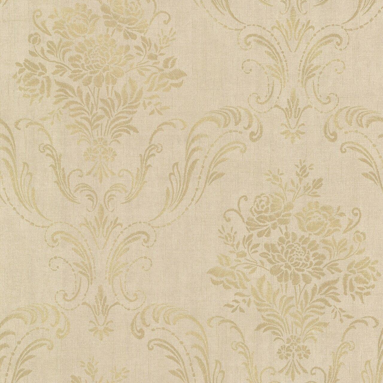 Brewster 2665 21446 Avalon Manor Gold Floral Damask Wallpaper 1280x1280