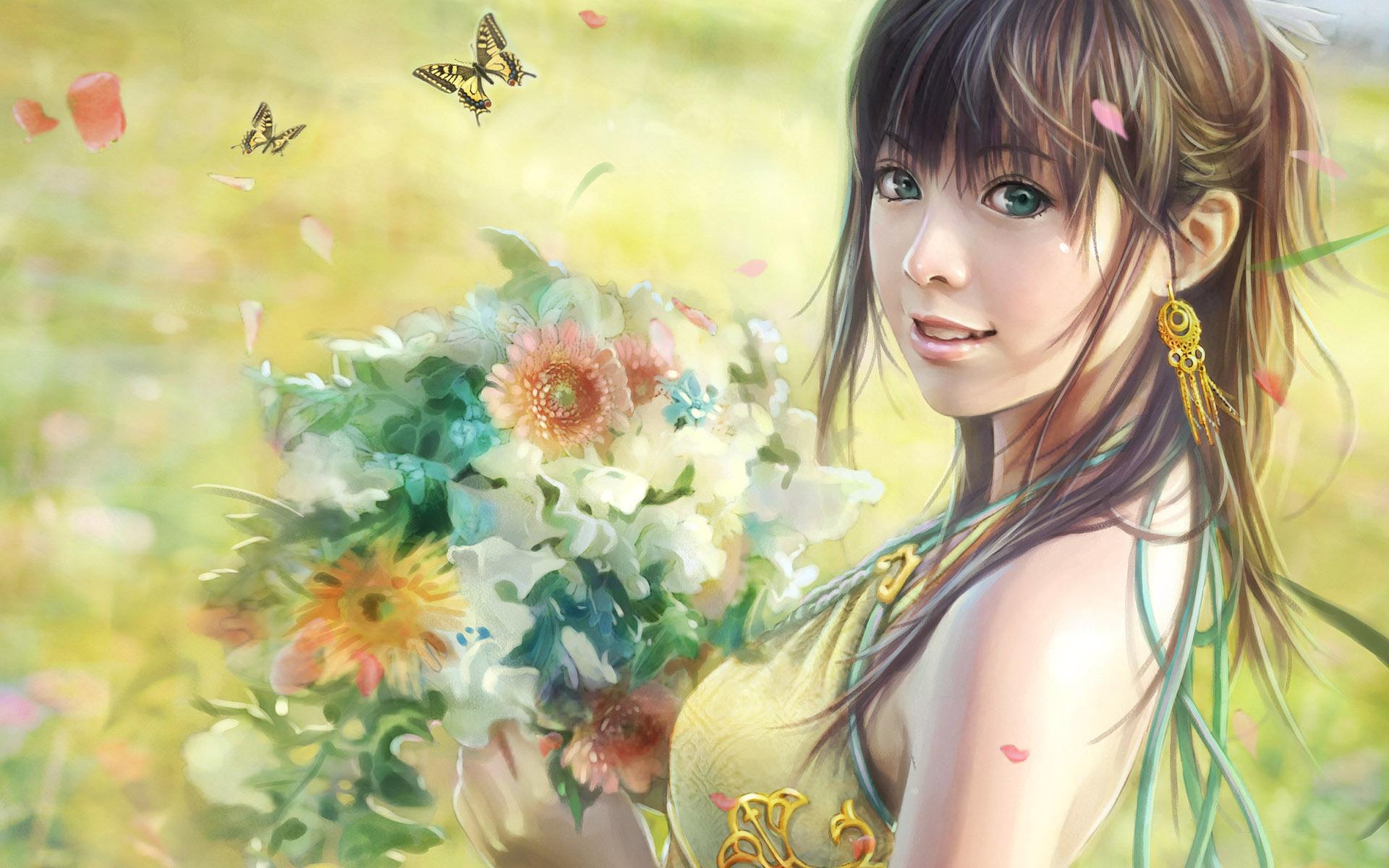 CG beautiful girl wallpaper Wallpapers   HD Wallpapers 81317 1920x1200