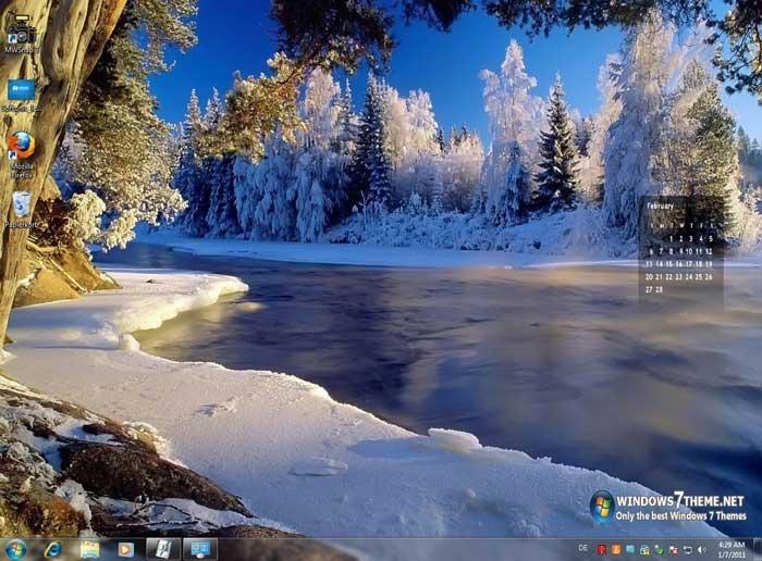 2011 Calendar Windows 7 Theme - Download