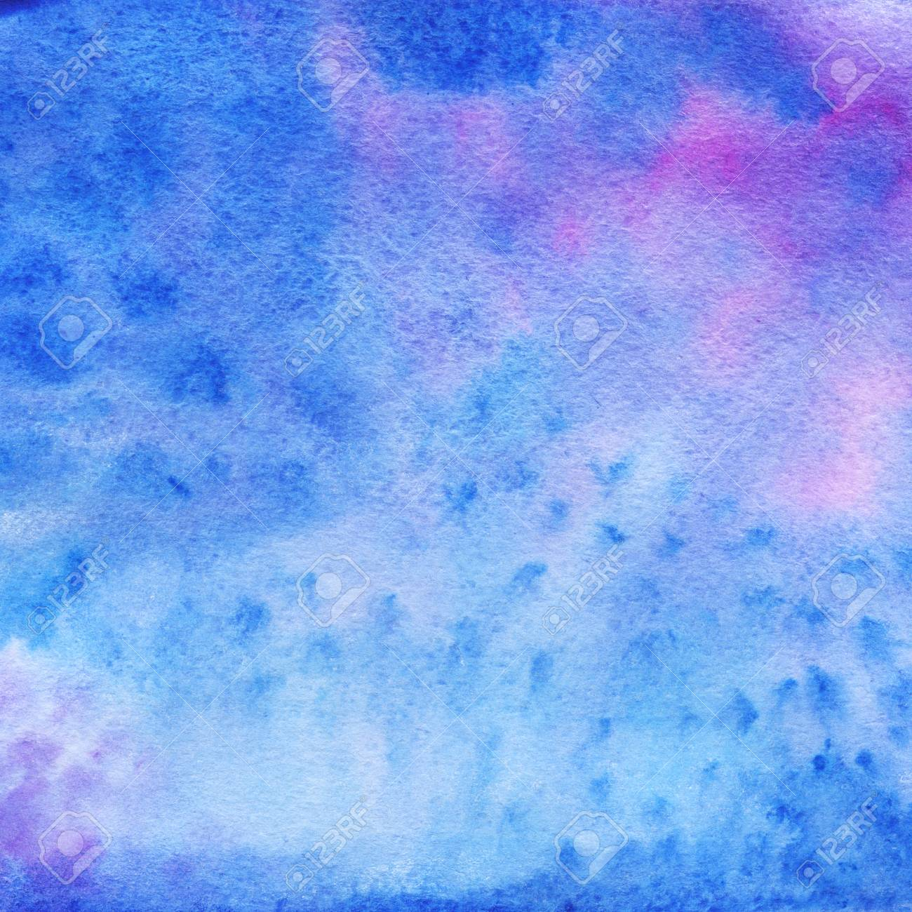 Painted Magic Background Watercolor Printable Texture Stock Photo 1300x1300