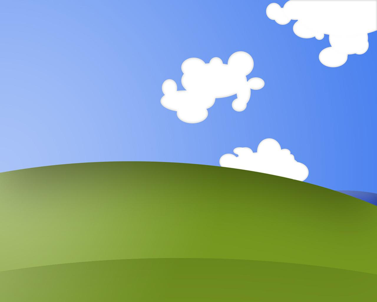 windows windows xp clouds drawn simple wallpaper HQ WALLPAPER 1280x1024