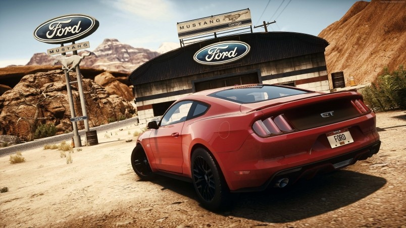 Need For Speed Ford Mustang HD Wallpaper   WallpaperFX 804x452
