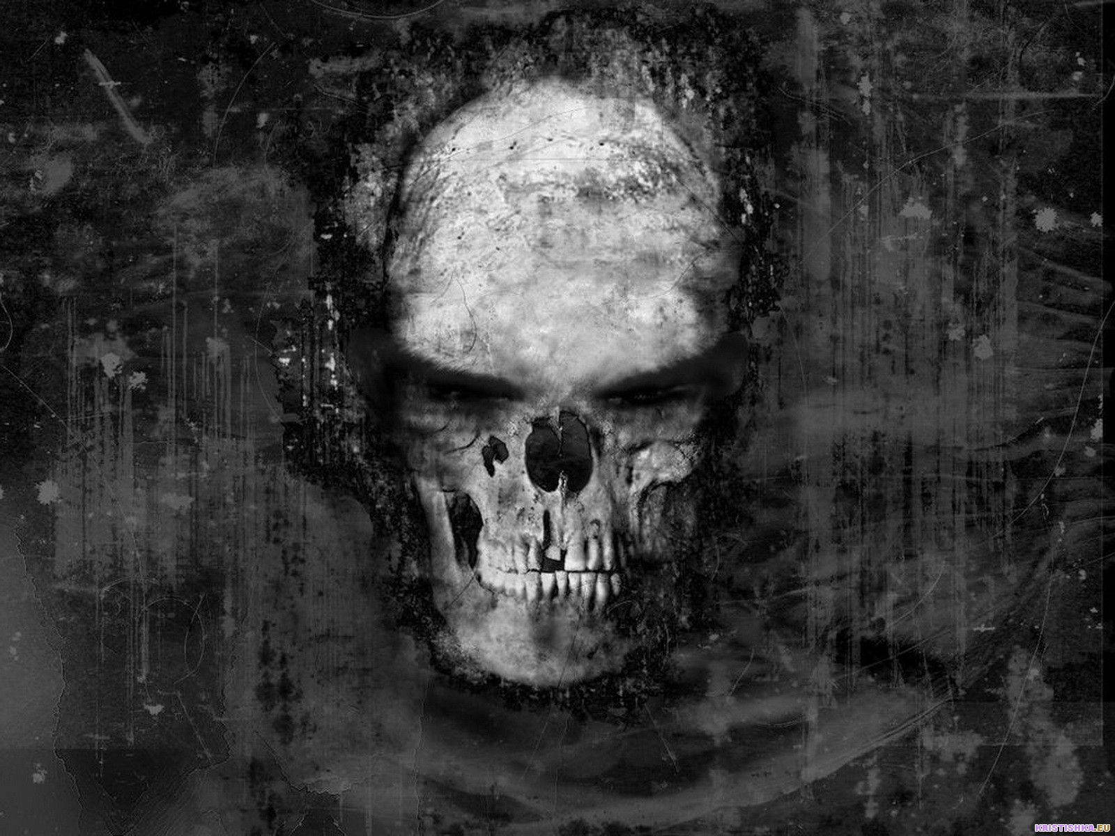 horror wallpapers wallpapers skull horror scream black gothic scary 1600x1200