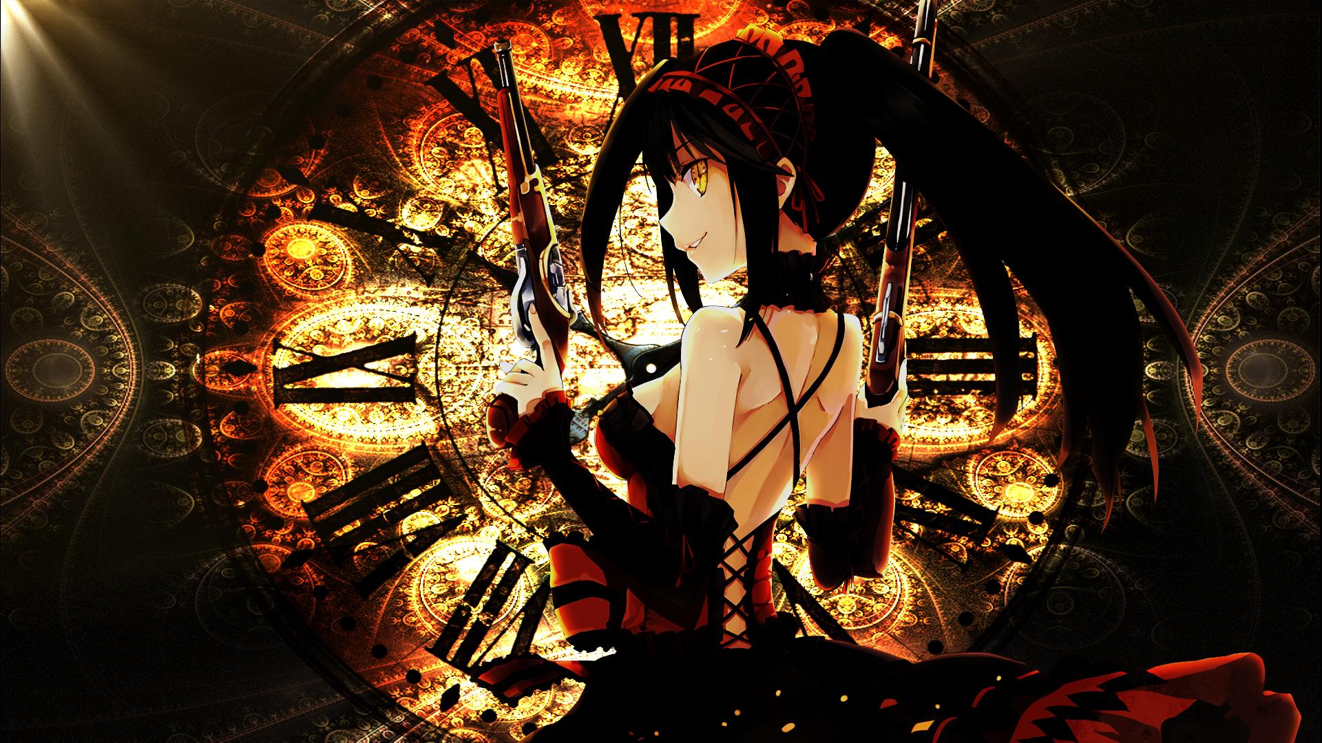 Free Download Kurumi Tokisaki Date A Live Anime Hd Wallpaper X