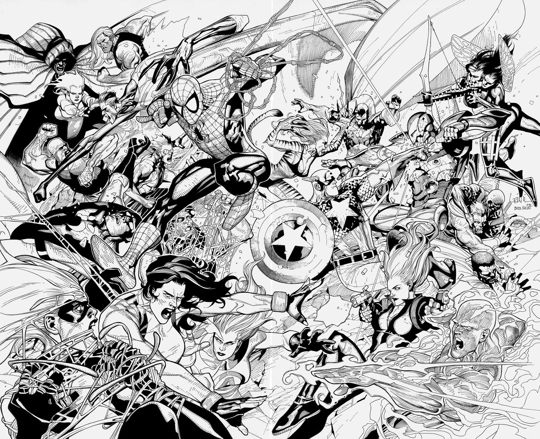 Avengers Civil War Wallpaper