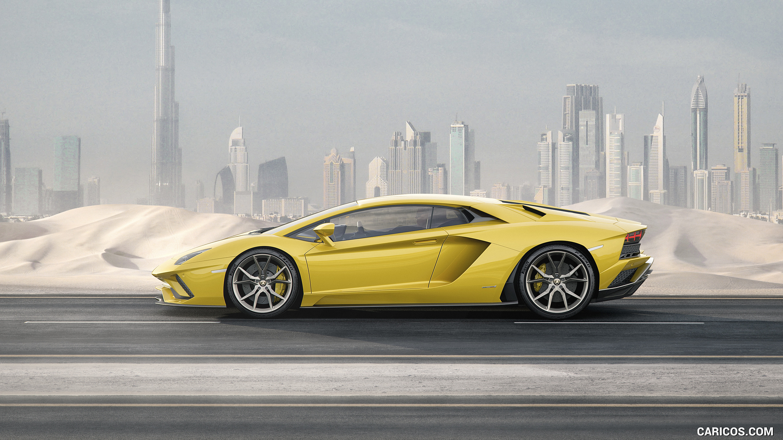 2017 Lamborghini Aventador S   Side HD Wallpaper 9 2560x1440