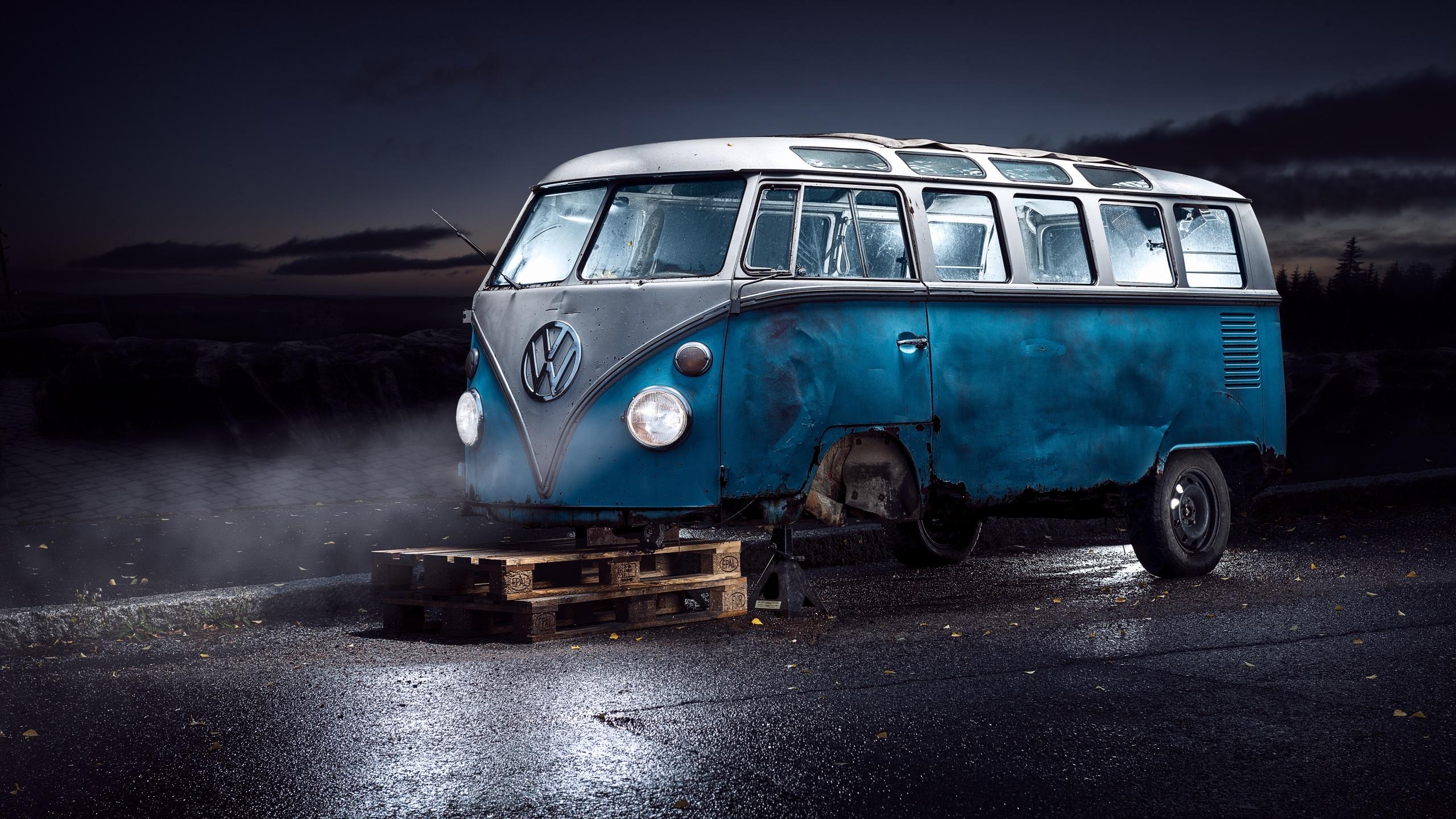 Volkswagen Van Wallpaper Hd   2560x1440   Download HD Wallpaper 2560x1440