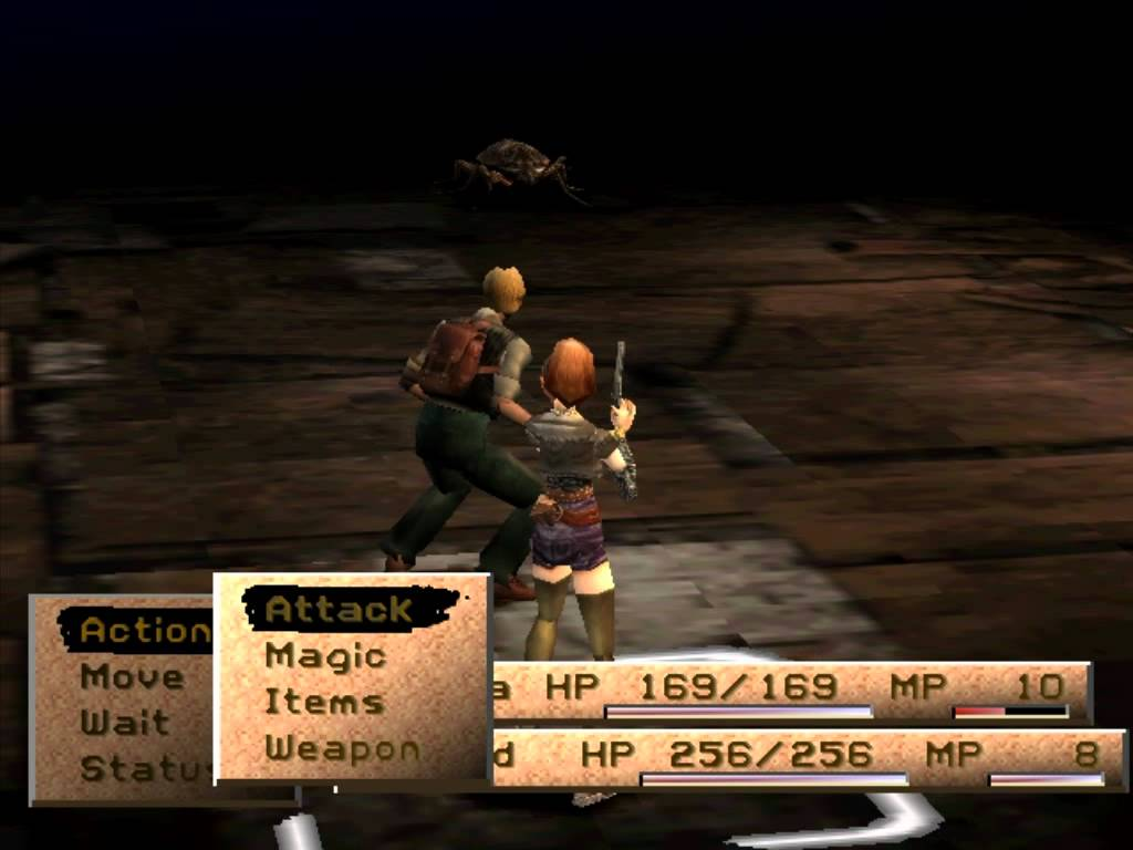 Jinxed Thoughts Koudelka   Horror JRPG PSX   Review 1024x768