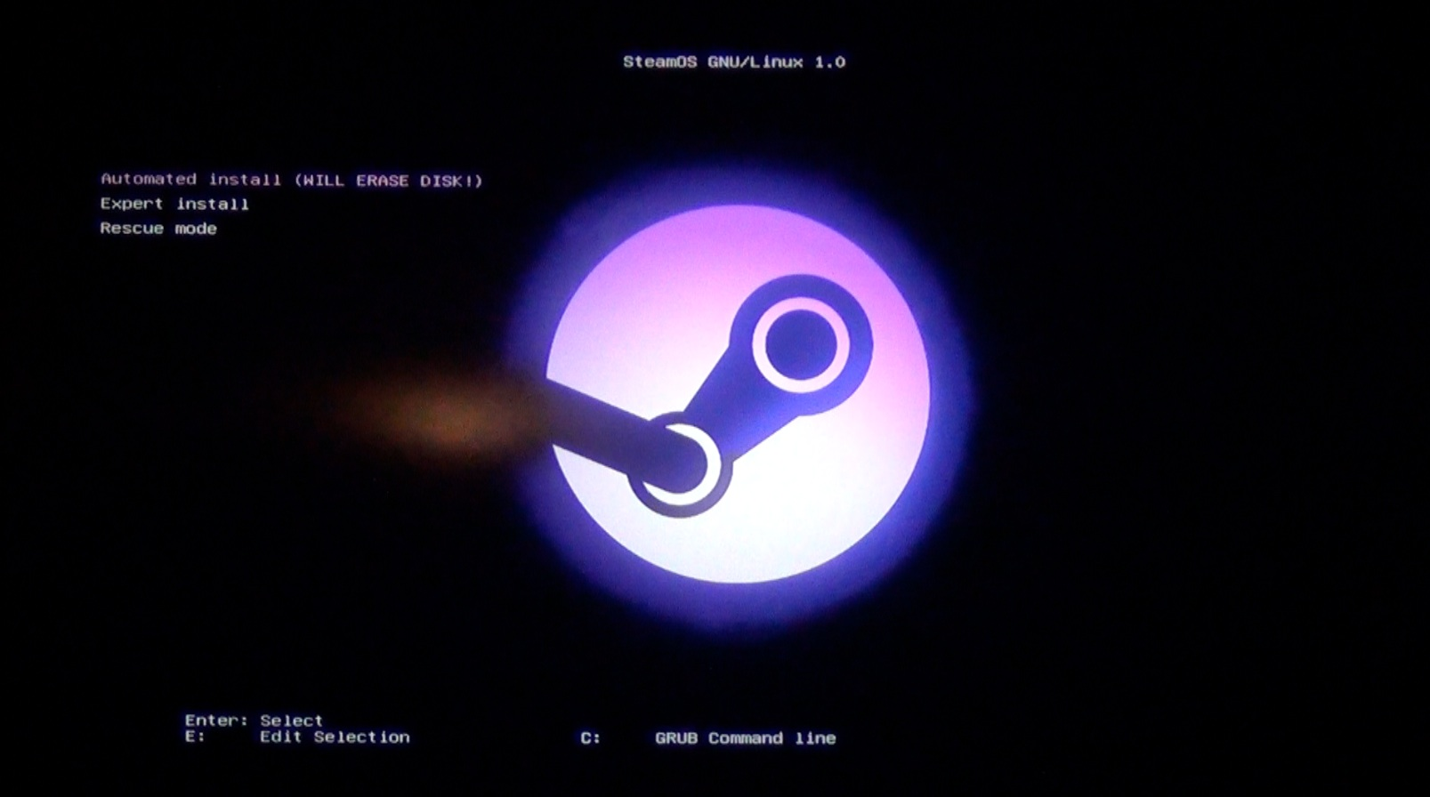 how to get steam os on pc