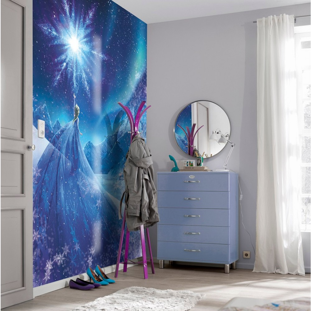 Frozen Elsa Wallpaper Great Kidsbedrooms the children bedroom 1000x1000