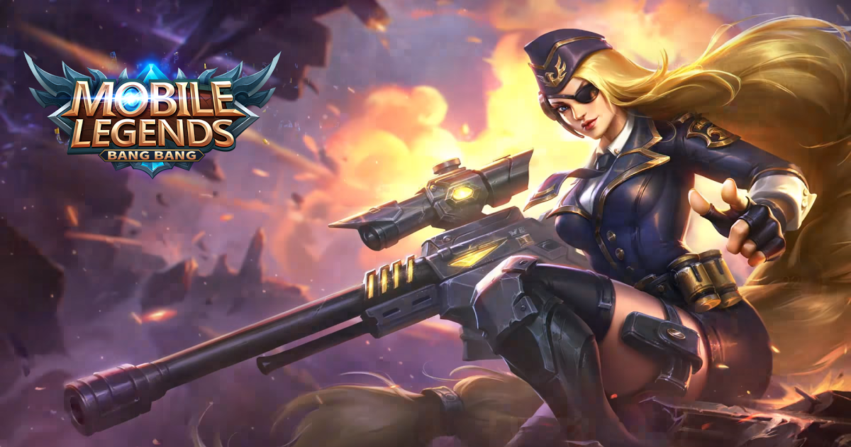 New Skin]Lesley General Rosa mobilelegends G A M E S Mobile 1200x630