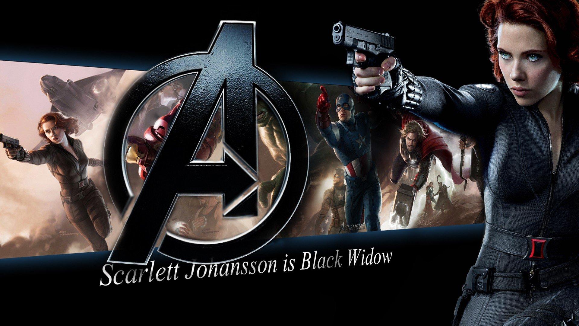 Black Widow   The Avengers Wallpaper 29518243 1920x1080