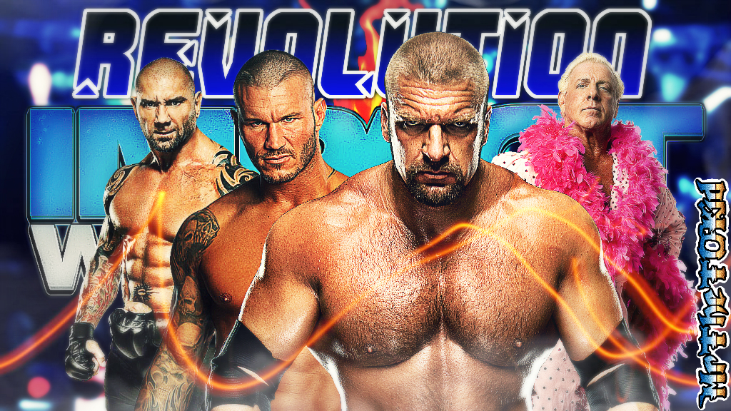 Download Wwe Evolution Wallpaper Tna evolution 2014 by [1024x576 1024x576
