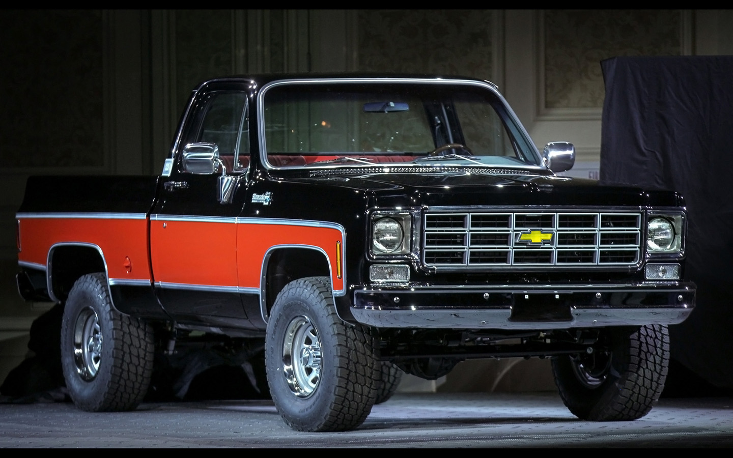 Truck Concepts at SEMA   1978 4x4 Pickup   2   1440x900   Wallpaper 1440x900