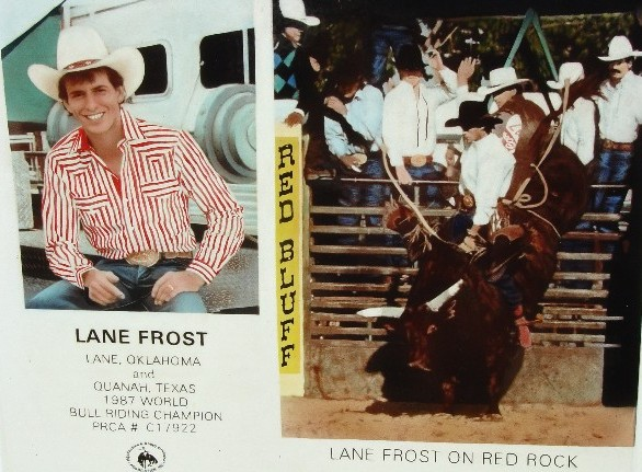 This film chronicles the life of Lane Frost 1987 PRCA Bull Riding 586x431