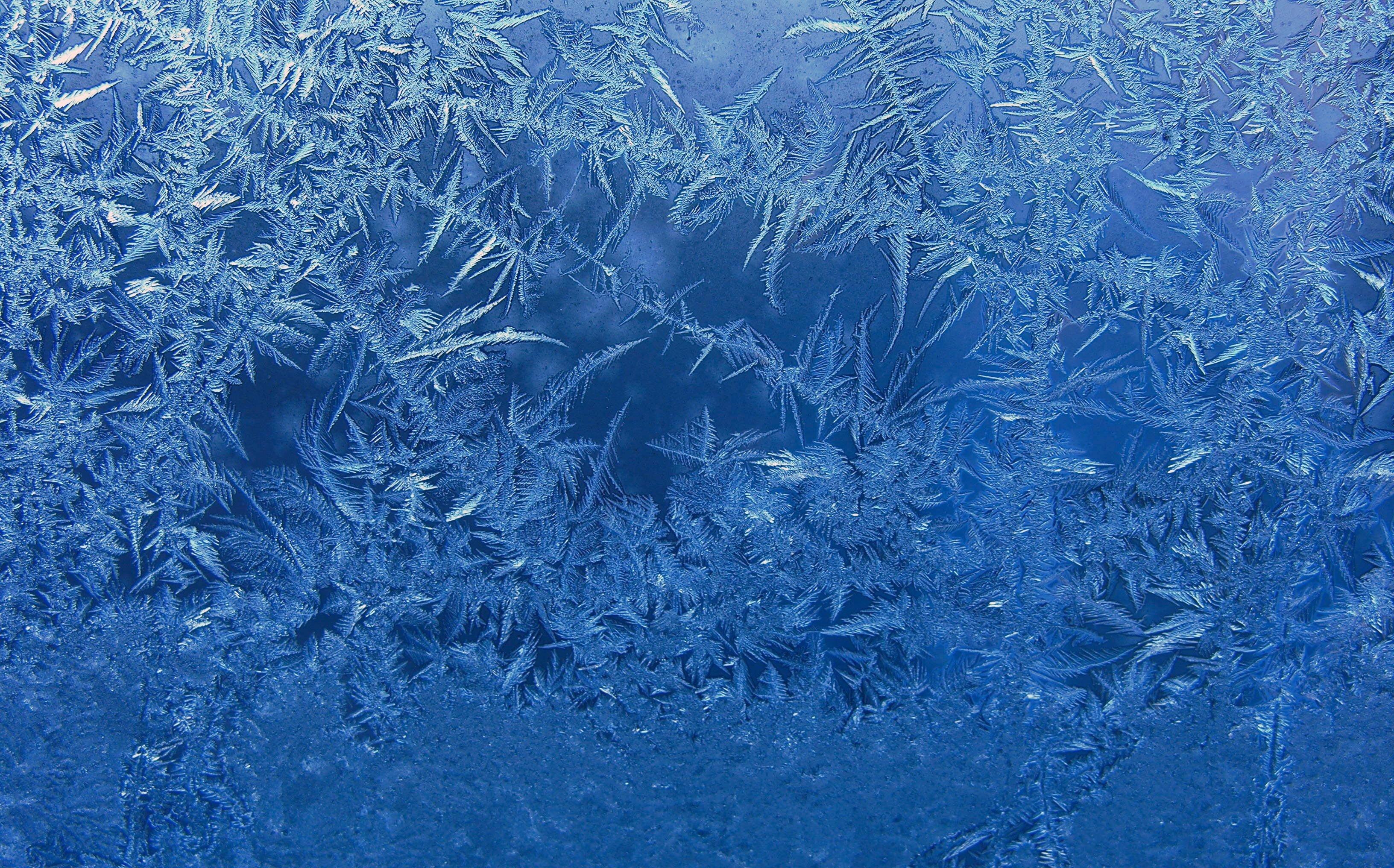 frost blue background glass winter window ice wallpaper background 3264x2032