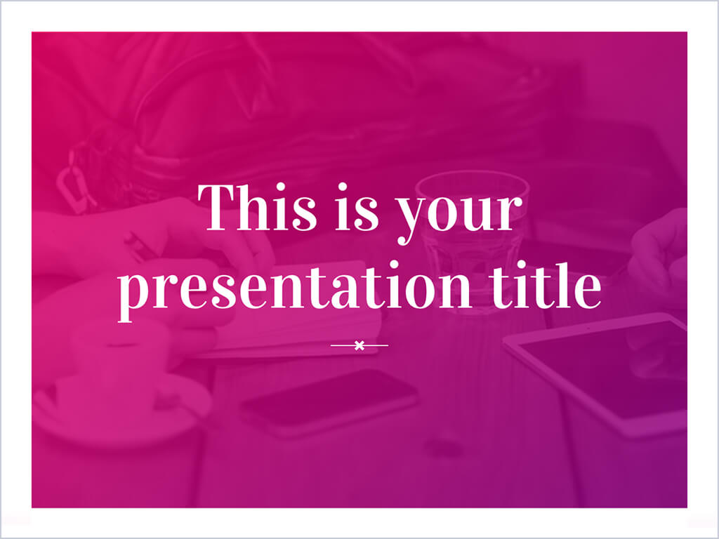 30+] Background Style Powerpoint 2017 Color Pink on