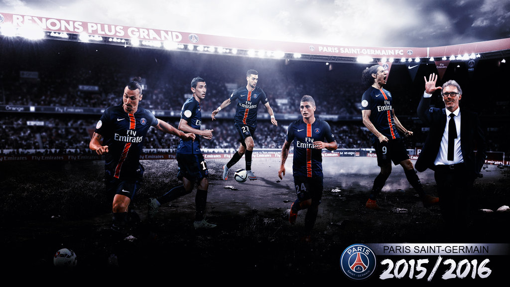PSG 20152016 Wallpaper By RakaGFX 1024x576