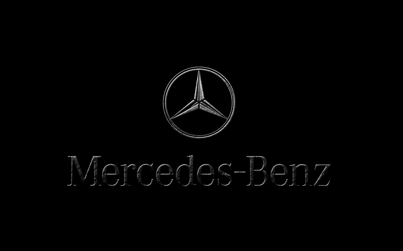 mercedes benz logo wallpaper hd 1280x800