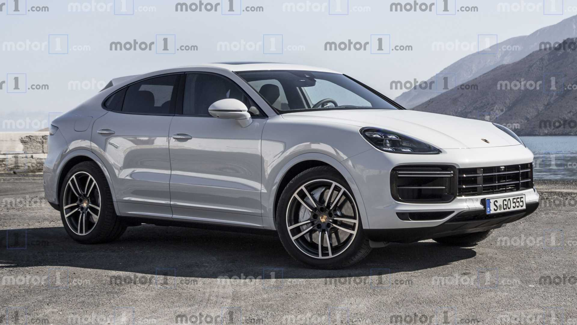 Porsche Cayenne Coupe Rendered To Fight BMW X6 [UPDATE] 1920x1080