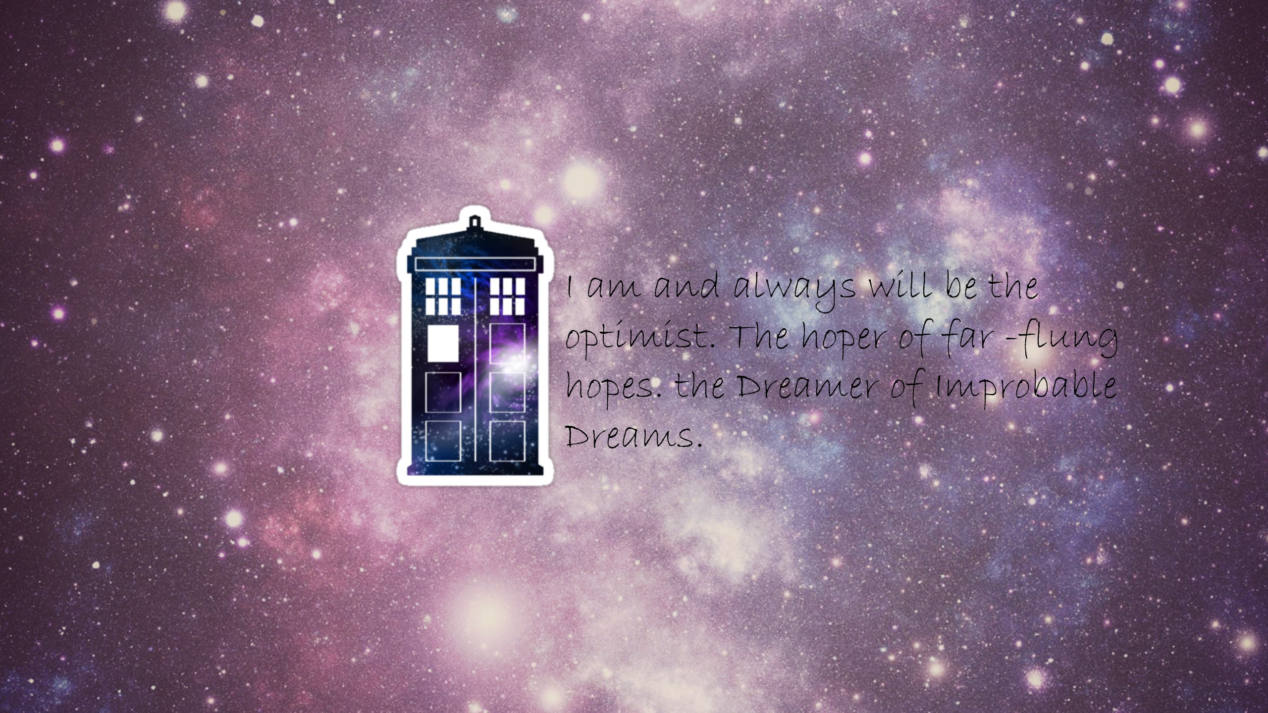wallpaper i made   Doctor Who Wallpaper 36078109 2560x1440