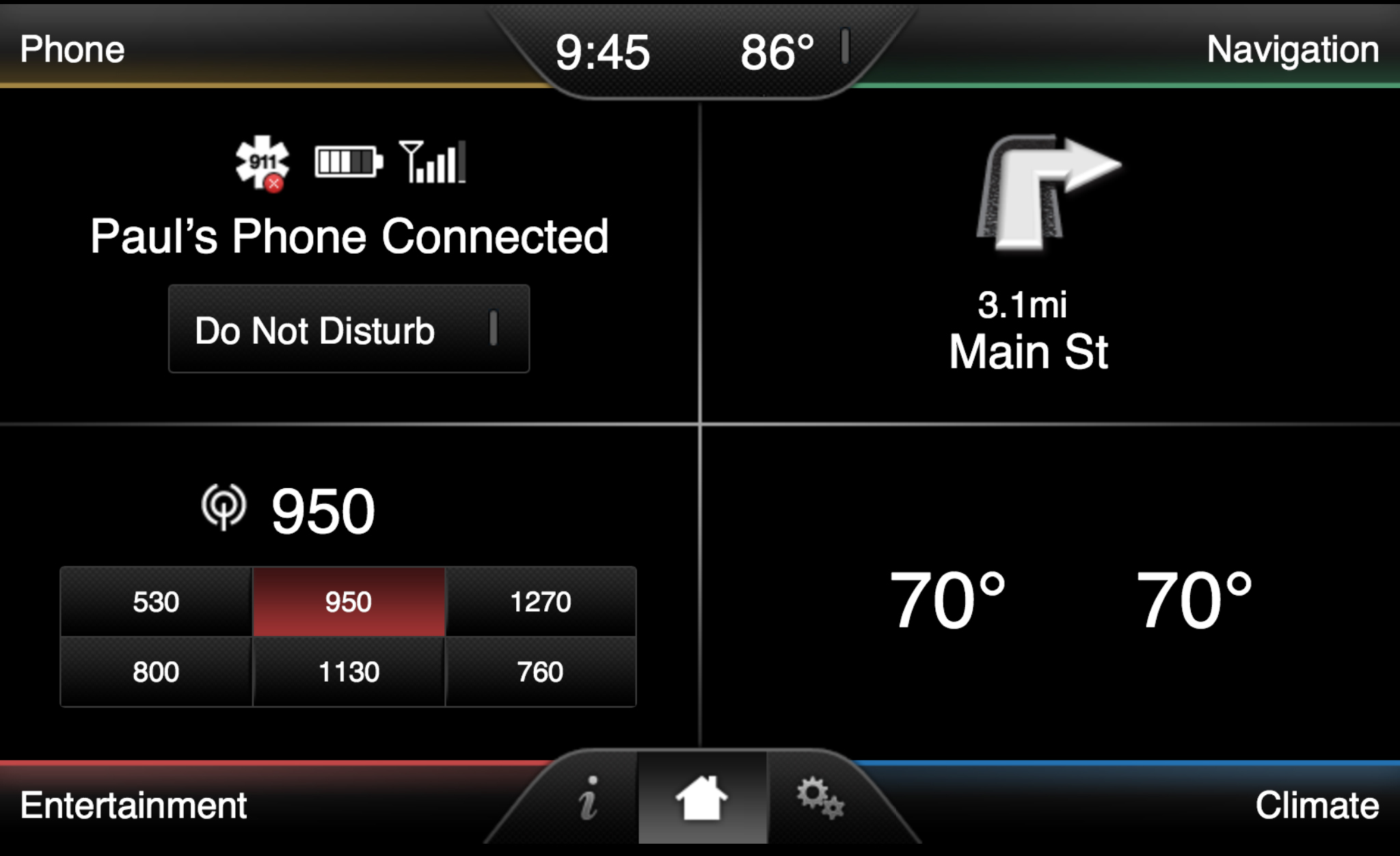 ford fusion how to change your sirius homescreen