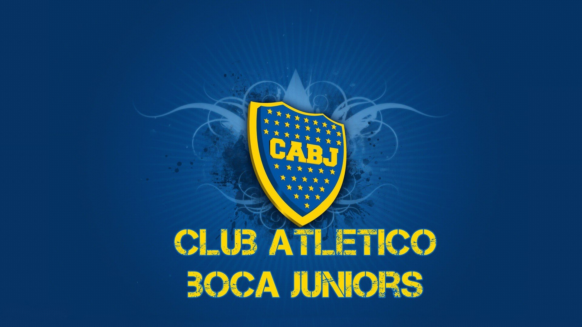 Boca Juniors Football Team Logo HD Wallpaper   Wallpaper Stream 1920x1080