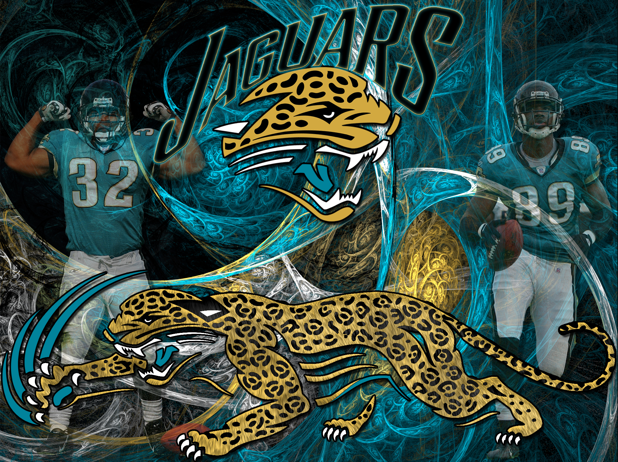 Wallpapers By Wicked Shadows Jacksonville Jaguars Wicked Wallpaper 2000x1496