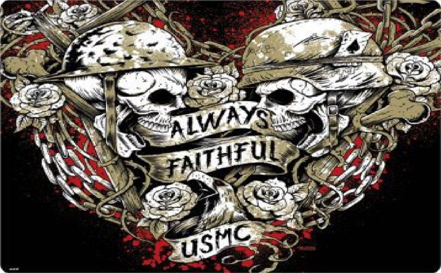 Always Faithful USMC wallpaper   ForWallpapercom 1532x949