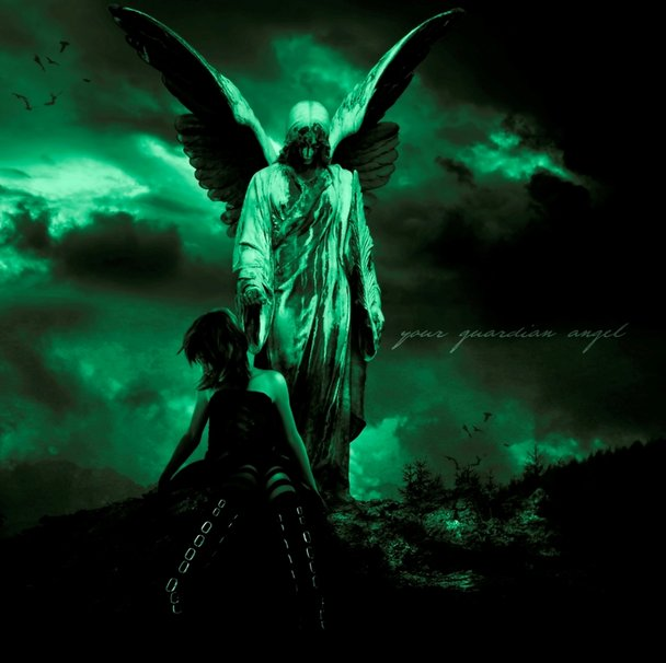 Guardian Angel Wallpaper for Desktop - WallpaperSafari