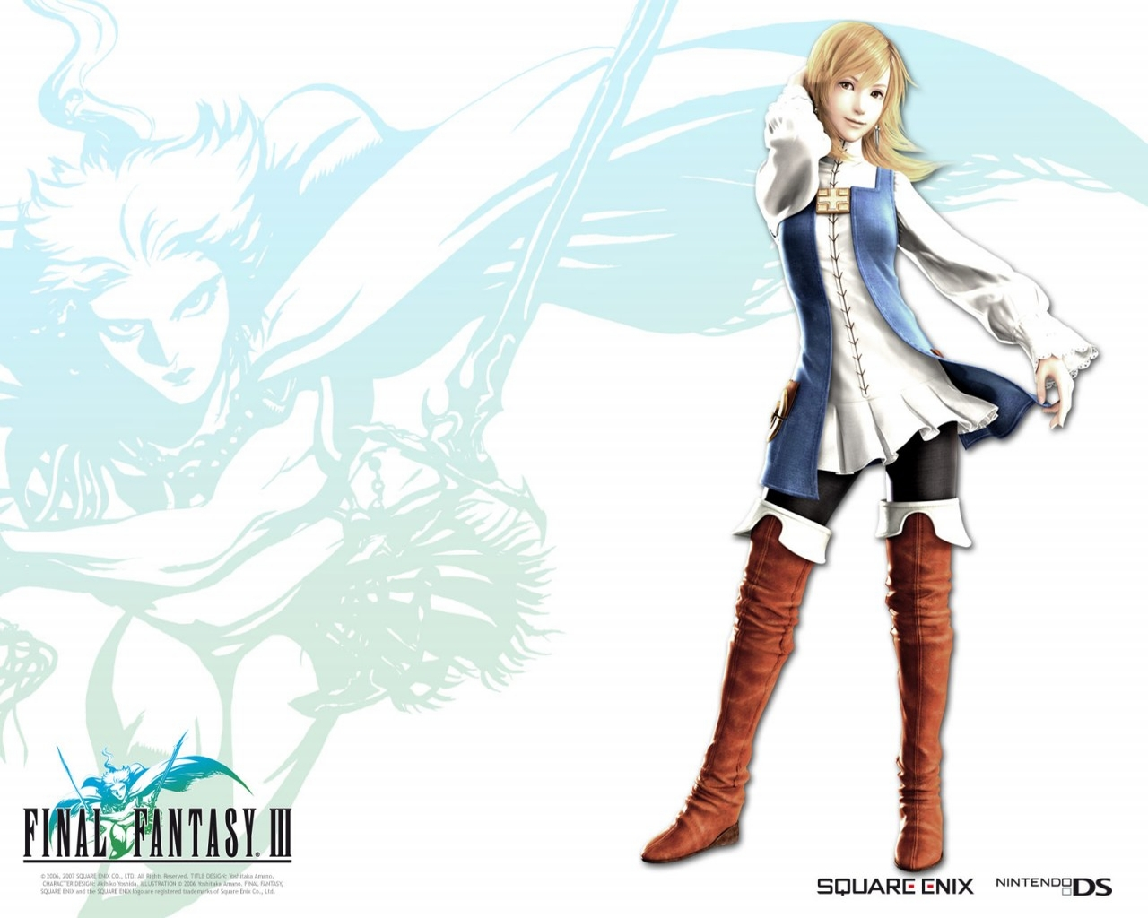 Home Wallpaper Final Fantasy 3 Final Fantasy 3 1280x1024