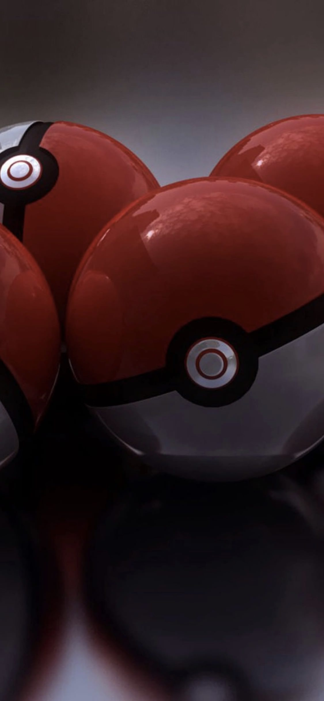 Pokemon monster ball style wallpapersc iPhoneXS 1125x2436