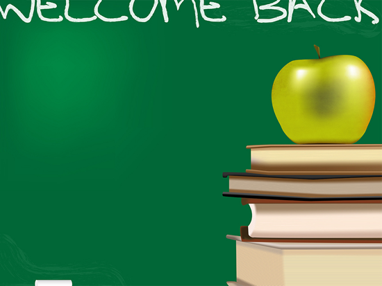 Back to School Guide Back to School PowerPoint Backgrounds 550x413