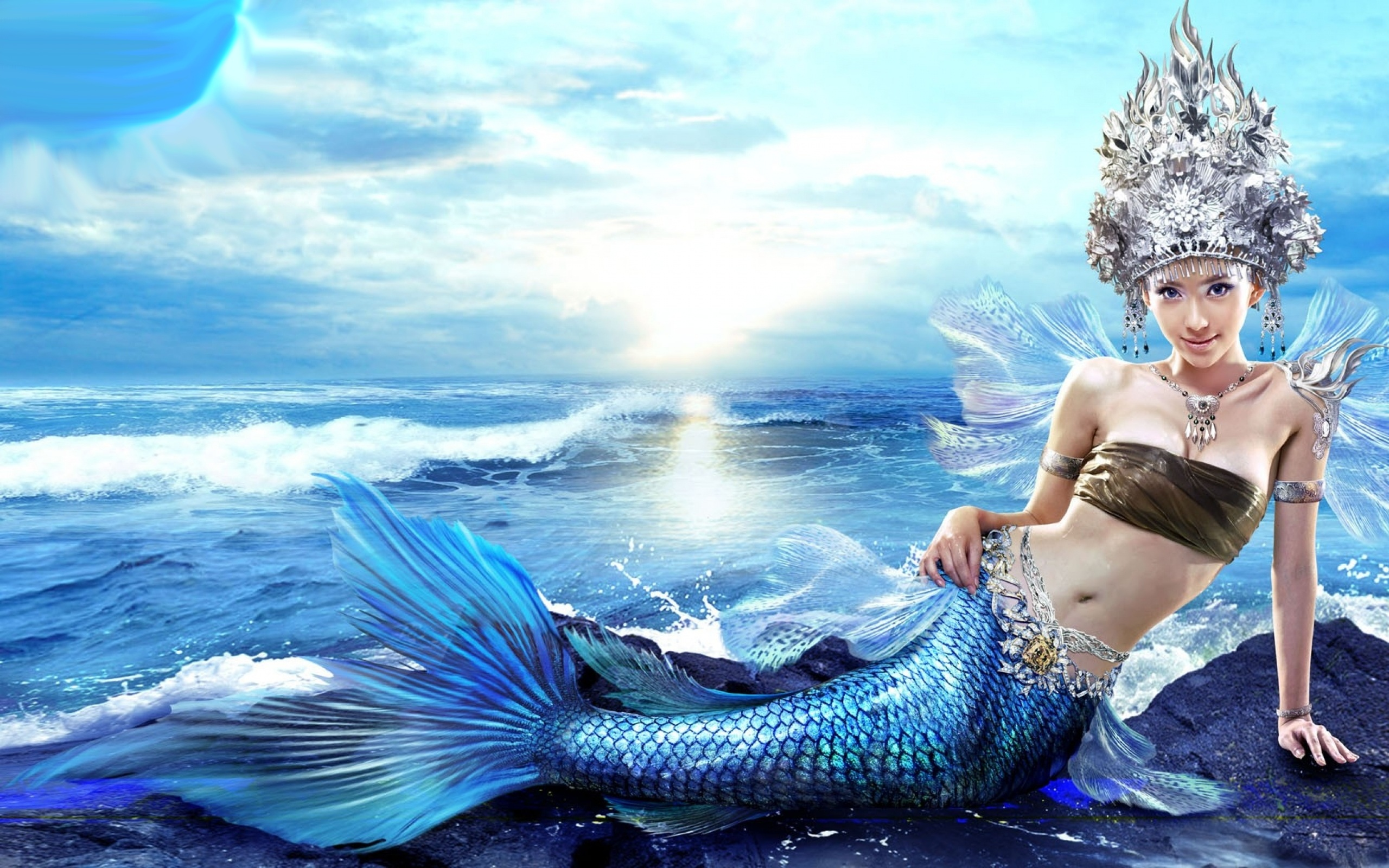 148 <b>Mermaid</b> HD <b>Wallpapers</b>   Backgrounds - <b>Wallpaper</b> Abyss