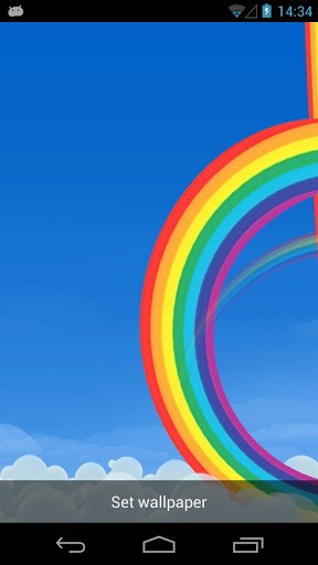 Free Download Rainbow 3d Live Wallpaper App For Android