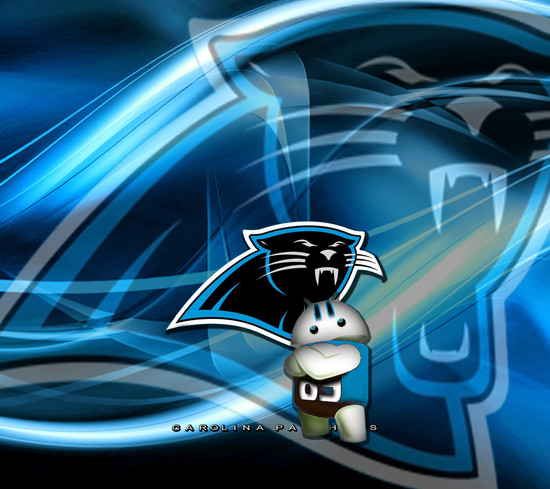 Carolina Panthers Lloyd Wallpaper by androidcentralcom 550x489