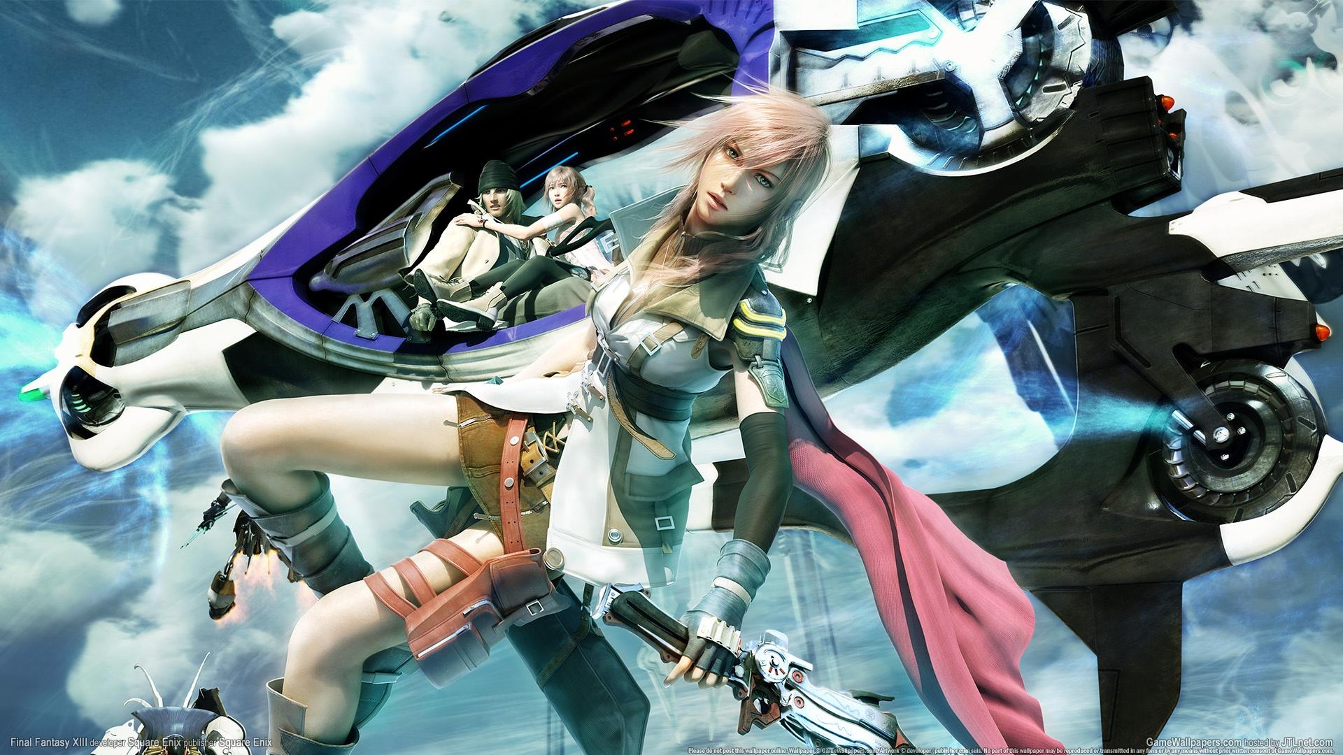 Final Fantasy XIII Wallpaper PS3 Game 3 HD Desktop Wallpapers 1920x1080