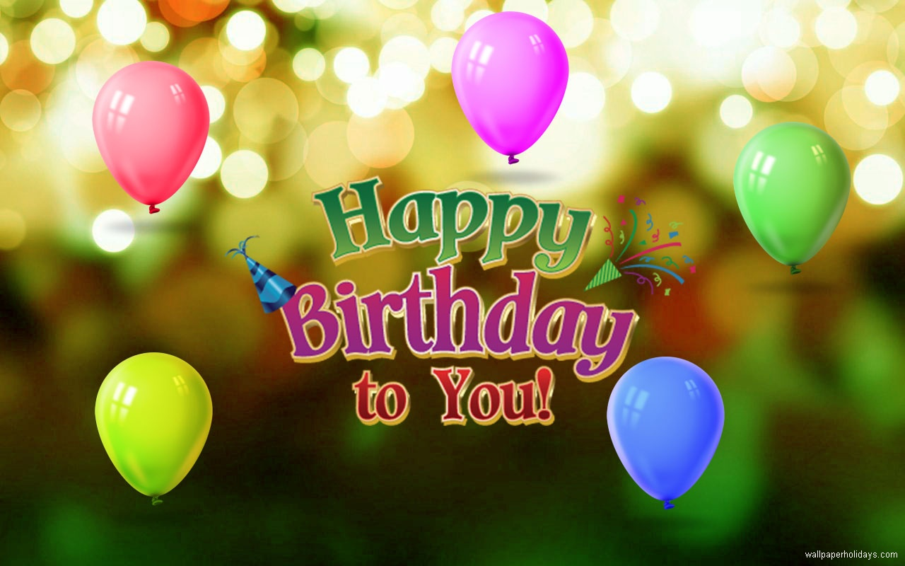 Download Happy Birthday Wallpaper Images The Quotes Land 1280x800