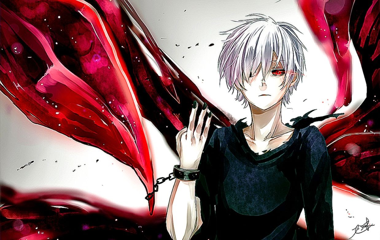 Tokyo Ghoul Kaneki Hd Wallpaper Best Wallpapers 1238x783