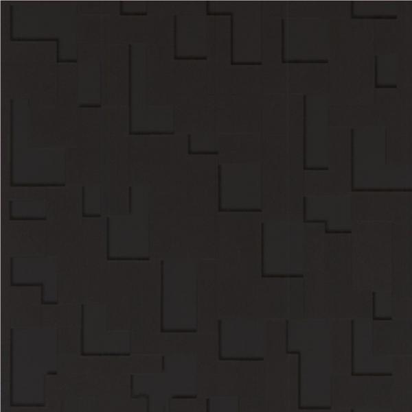 BROWN LUXURY CHECKER 3D BLOCKS GEOMETRIC TILE VINYL 10M WALLPAPER ROLL 600x601