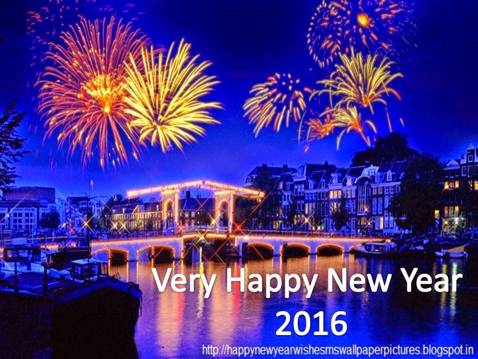Happy New Year 2016 Images Wallpapers Pictures Sms Wishes Messages 960x720